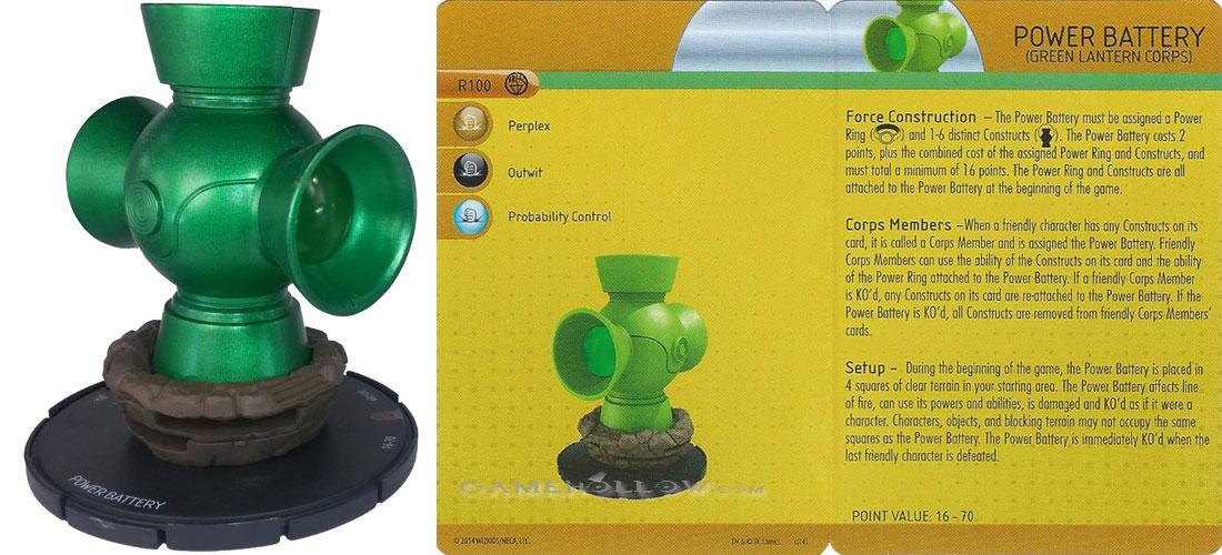 DC Heroclix War of Light Green Lantern Catapult Construct R200.07