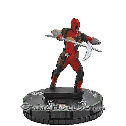 DREADPOOL 001B PRIME Deadpool and X-Force Marvel HeroClix