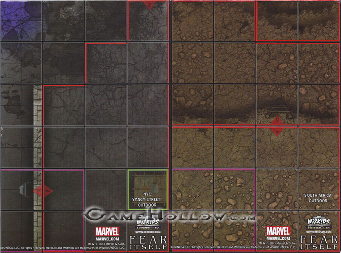 Marvel Map Of New York.Heroclix Maps Tokens Objects Online Codes