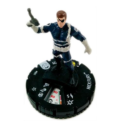 Marvel Heroclix NM Nick Night Hawk #059b Nick Fury Agent of S.H.I.E.L.D