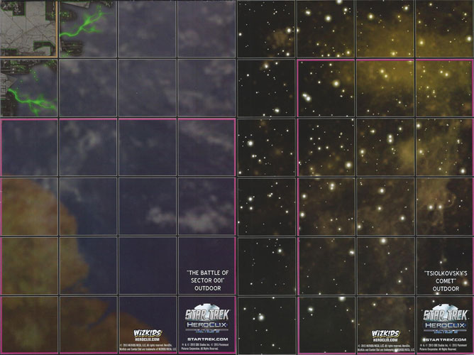Delphi expanse map Tactics III Star Trek HeroClix