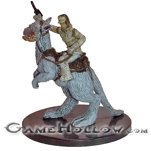 The Force Unleashed ~ REBEL TROOPER ON TAUNTAUN #22 rare Star Wars miniature