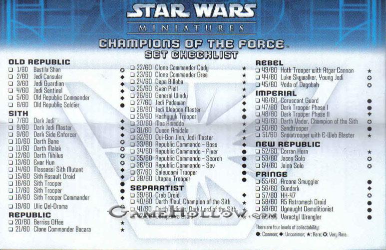 star wars miniatures gaurd droid #45
