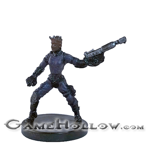 Star Wars Miniatures Revenge Of The Sith 55 Zabrak Fringer